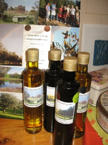 Olive oil from just up the road in Greenwood Heights.