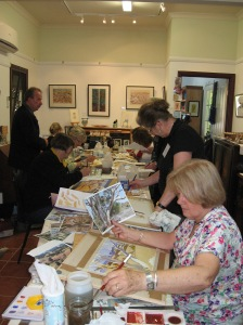 Watercolour workshop with Neville Peterkin